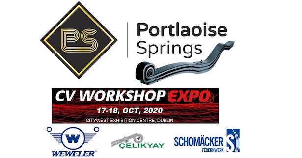 Portlaoise Springs set to exhibit at CV Workshop EXPO